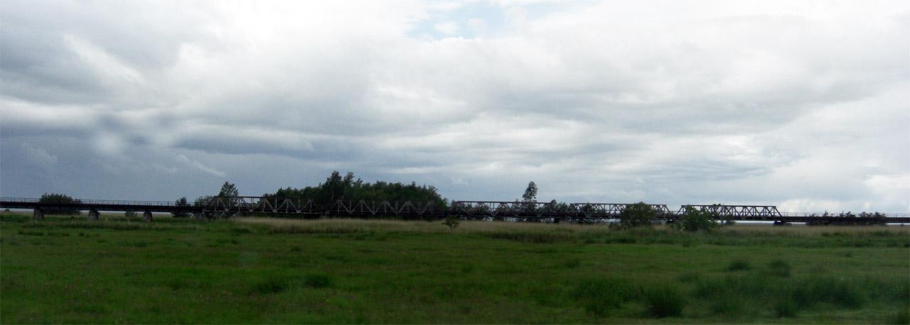 Eisenbahnbrücke DarssBahn