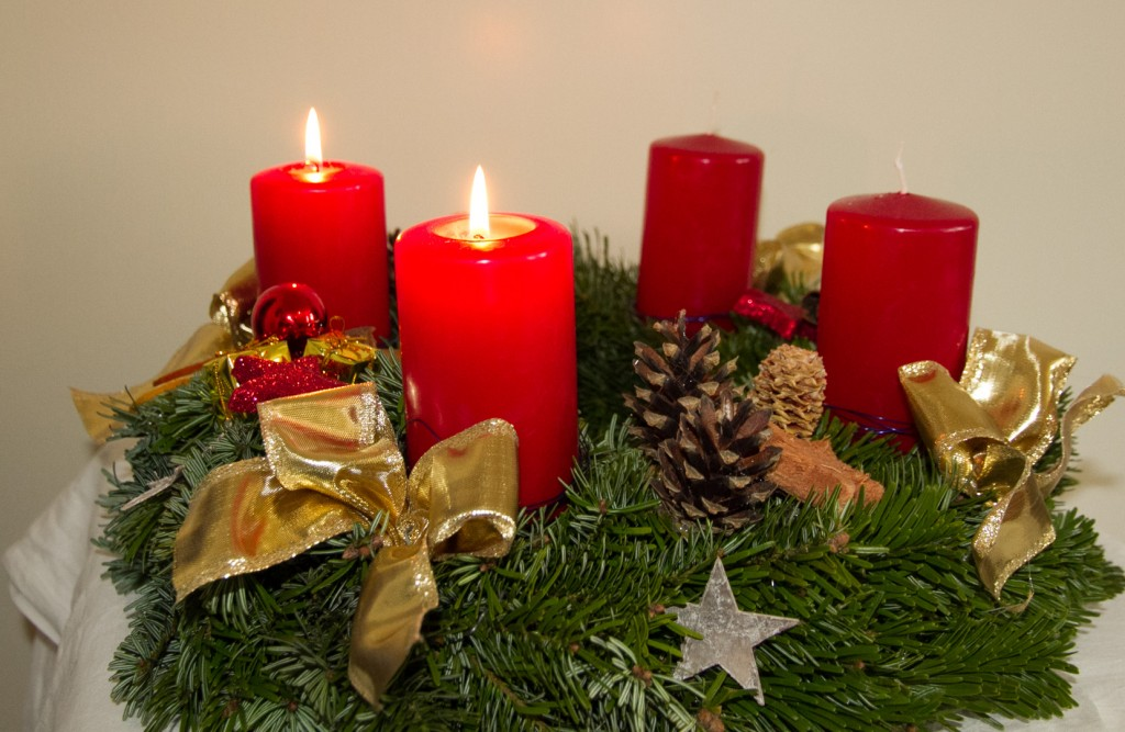 Adventskranz 2. Advent