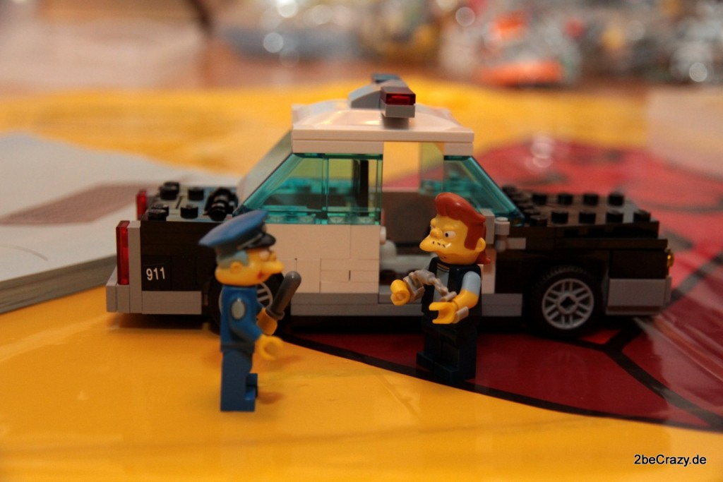 Du bist verhaftet. Chief Wiggum bei der - ausnahmsweise - Arbeit