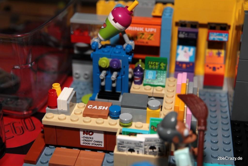 Die Squishy Maschine steht schon am Tresen des Kwik-E-Mart