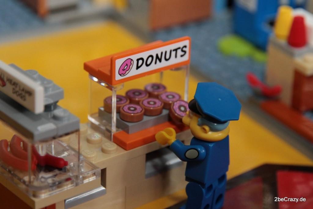 Ein frischer Donut bei den Simpsons!