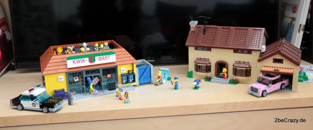 Die Simpsons Lego - Das Simpsons Haus vs. Der Kwik-E-Mart