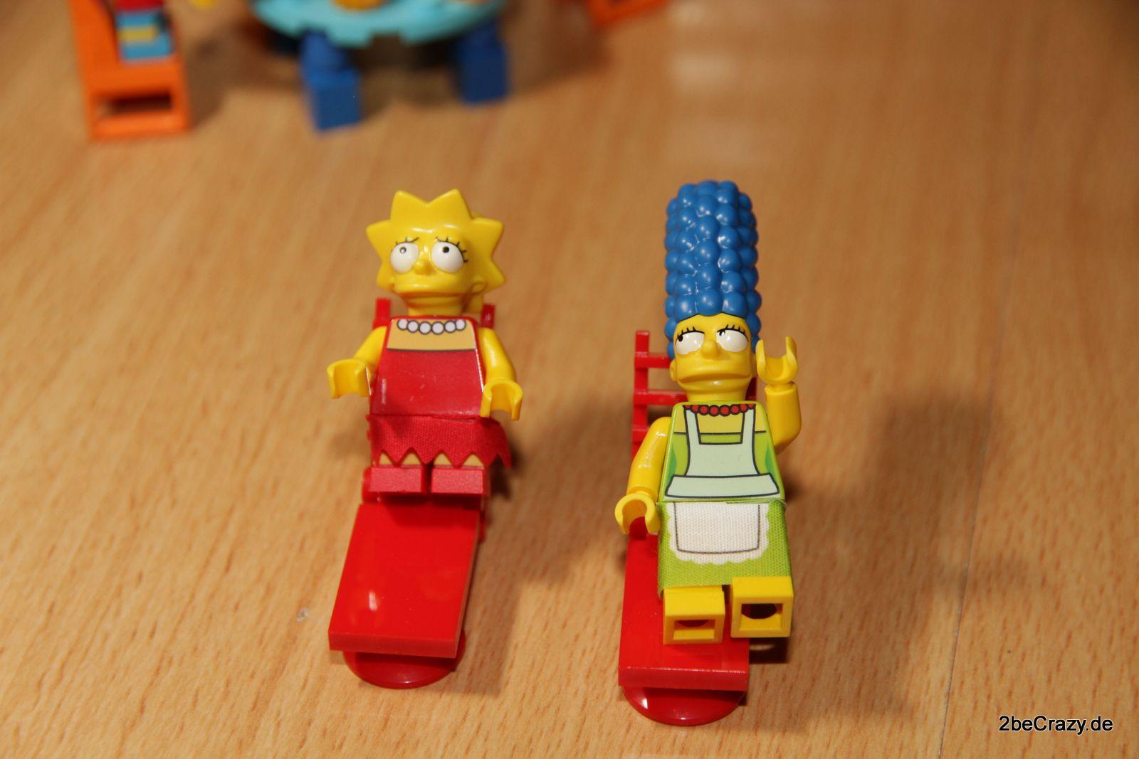 Das Simpsons Haus Von Lego Aufgebaut Und Bilder 187 2becrazy