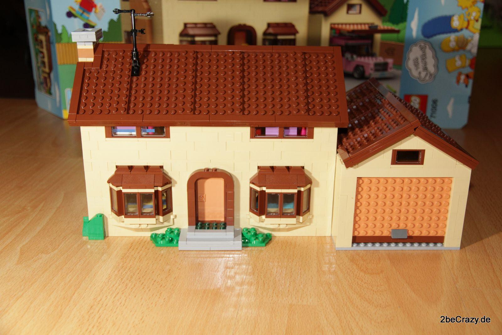 Simpsons Haus Lego 79 187 2becrazy