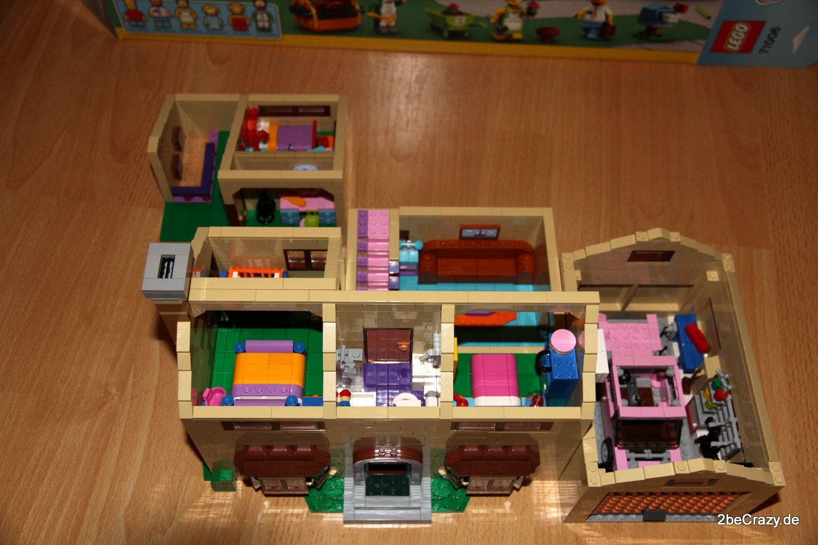 simpsons haus lego 85 2becrazy. Black Bedroom Furniture Sets. Home Design Ideas