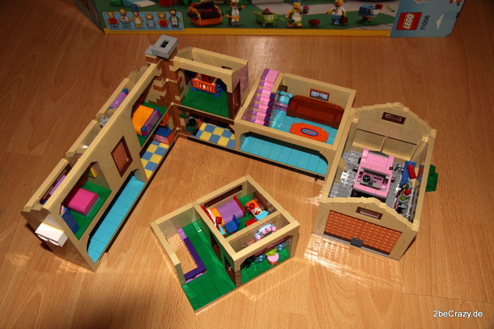 simpsons haus lego 86 2becrazy. Black Bedroom Furniture Sets. Home Design Ideas